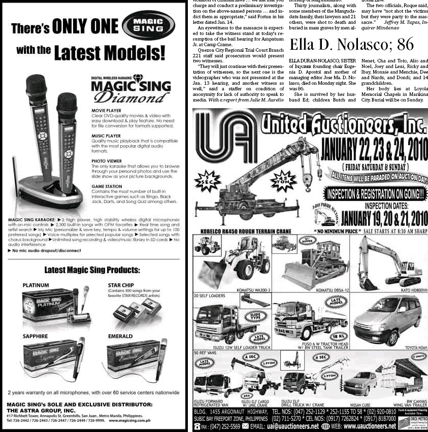 PressReader - Philippine Daily Inquirer: 2010-01-20
