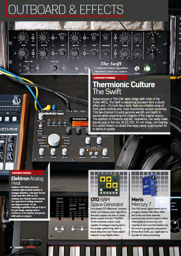 PressReader - Future Music: 2016-12-15 - Thermionic Culture The Swift