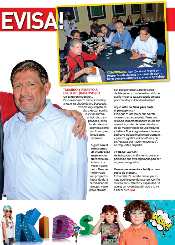 Pressreader Tvynovelas México 2017 04 10 De Vuelta A Televisa