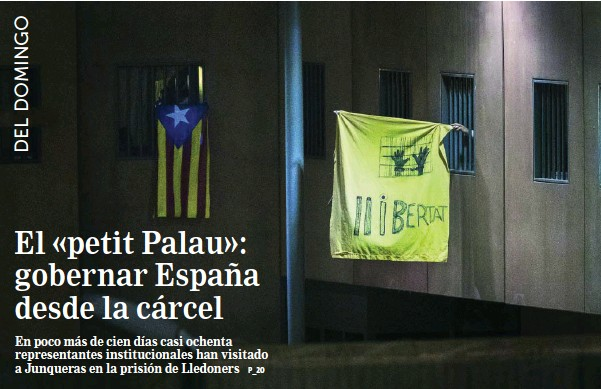 EL «PETIT PALAU»: GOBERNAR ESPAÑA DESDE LA CÁRCEL