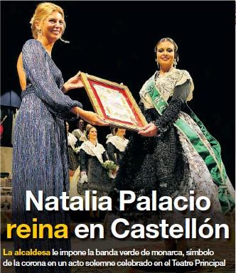 NATALIA PALACIO REINA EN CASTELLÓN