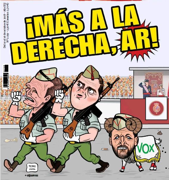 ¡MÁS A LA DERECHA, AR!
