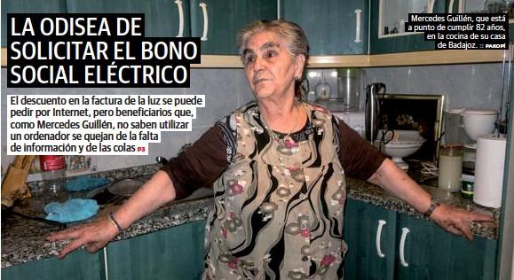 LA ODISEA DE SOLICITAR EL BONO SOCIAL ELÉCTRICO