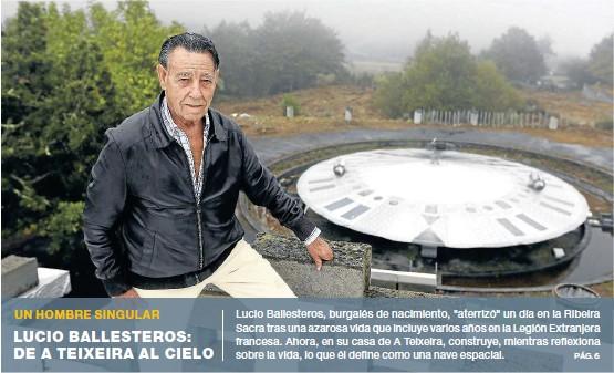 LUCIO BALLESTEROS: DE A TEIXEIRA AL CIELO